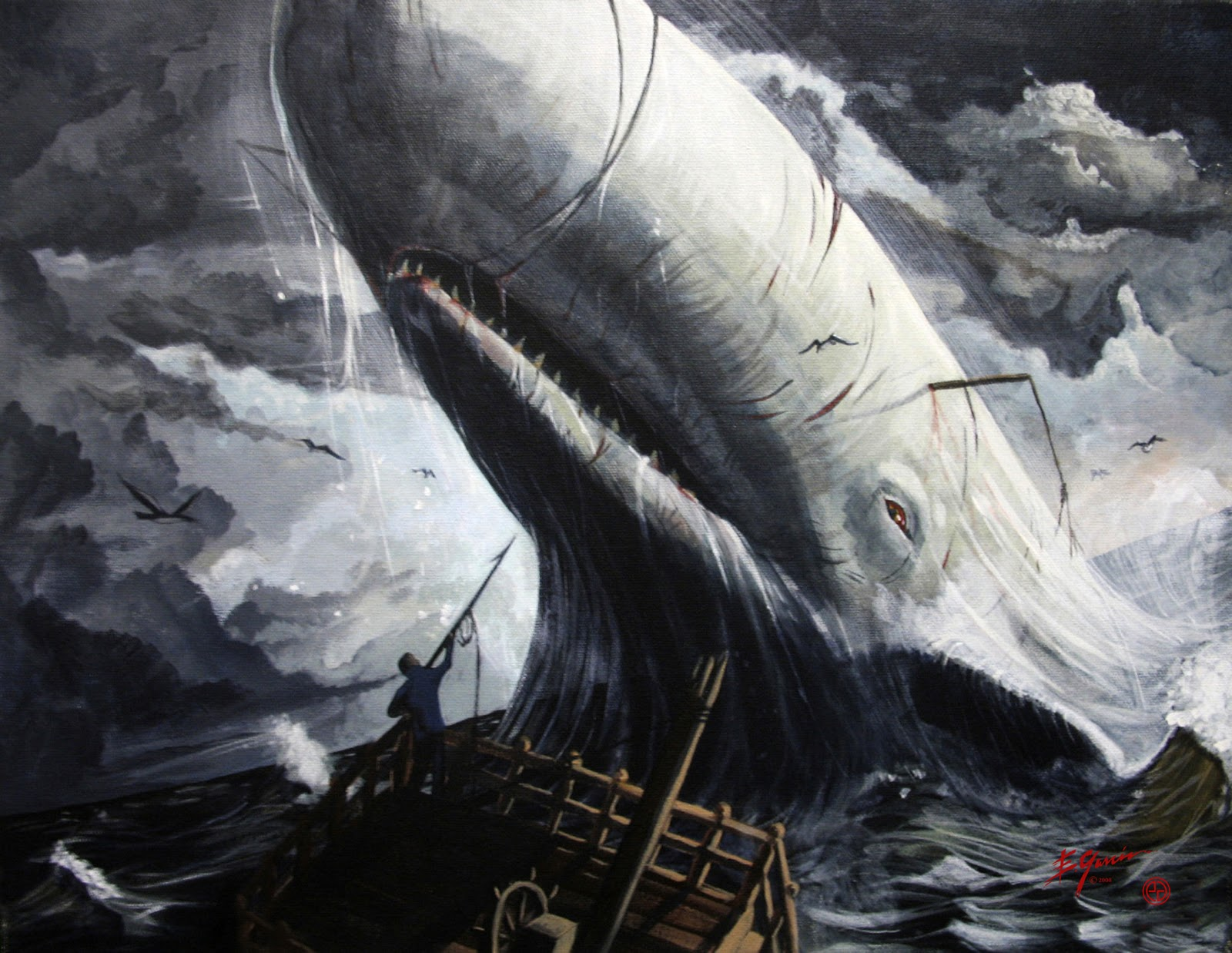 Moby dick etext