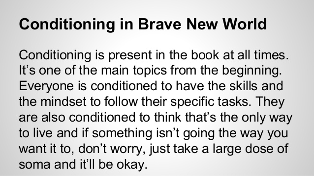 conditioning brave new world books brave conditioning en